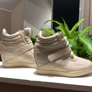 Adorable wedge sneakers!